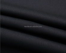 Pure cotton dyed bamboo woven twill woven elastic fabric