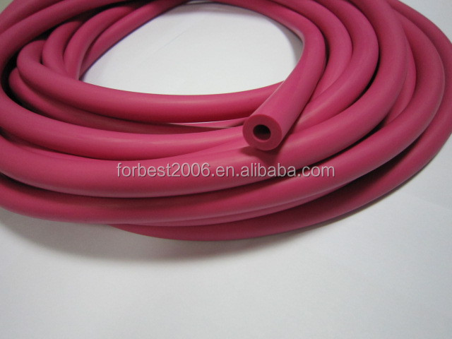 Colorful latex tube with strong elastic