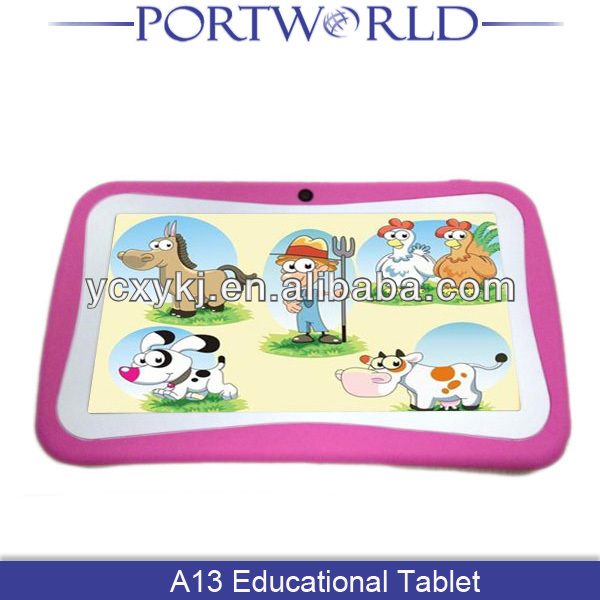 7 Inch Allwinner A13 Android 4.0 Kids Tablet With CE & ROHS