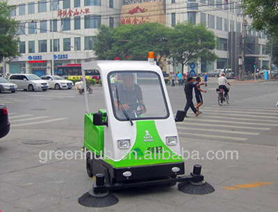 Magic smart ride-on sweeping machine