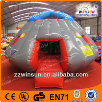 Funny TOP CE EN14960 EN15649 approved Wholesale Price 0.55mm PVC tarpaulin material cheap commercial rent bounce house for sale