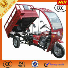 Hot Chinese three motorcycle with ABS cabin and single headlight