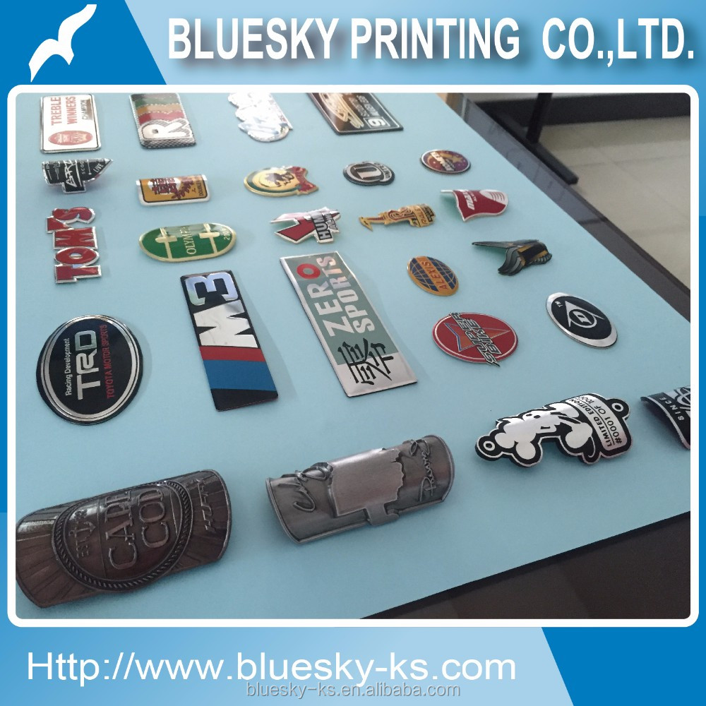 Bicycle Tube Badge, custom head tube metal badge for bicycle scooter car