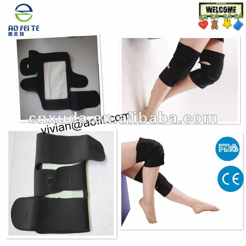 ourmaline magnetic knee wraps /Neoprene Straps Leg Protection