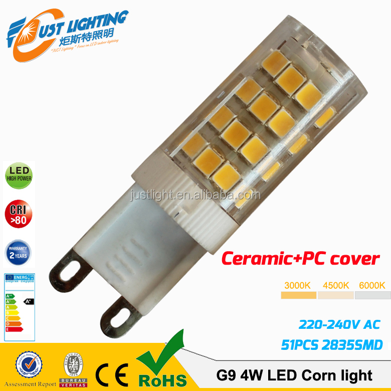My alibaba express factory price G9 <strong>led</strong> 3.5W plastci and ceramic <strong>led</strong> light g9
