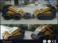 Adjustable mining loader/mini mine machine drvied by wheel or rubber track
