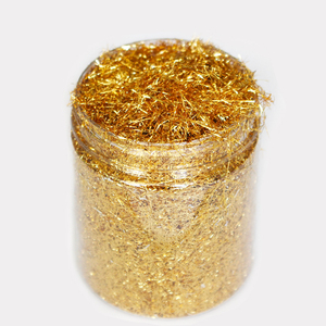 2018 wholesale glitter gold flake for nail art design decoration