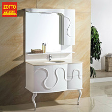 Optimal choice floor stand french bathroom vanity cabinet in cheap price
