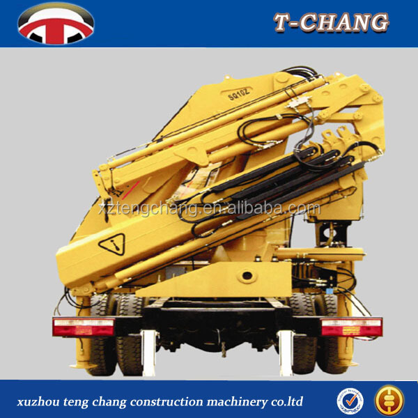 Dongfeng mini truck ,pick up crane,truck mounted crane10 ton for sale