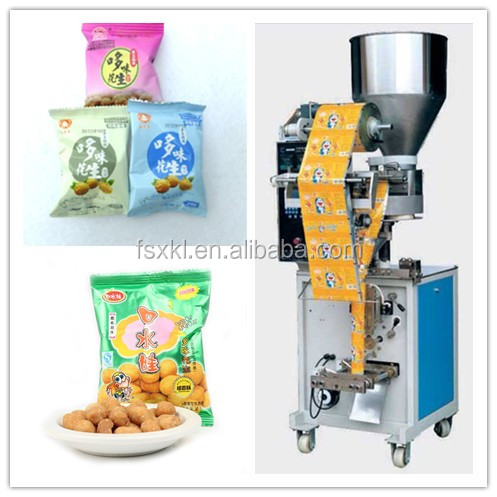 Grain vertical automatic Peanuts snack food packaging machine