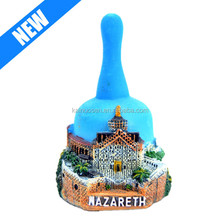 hand painted custom ceramic souvenir bell for sale