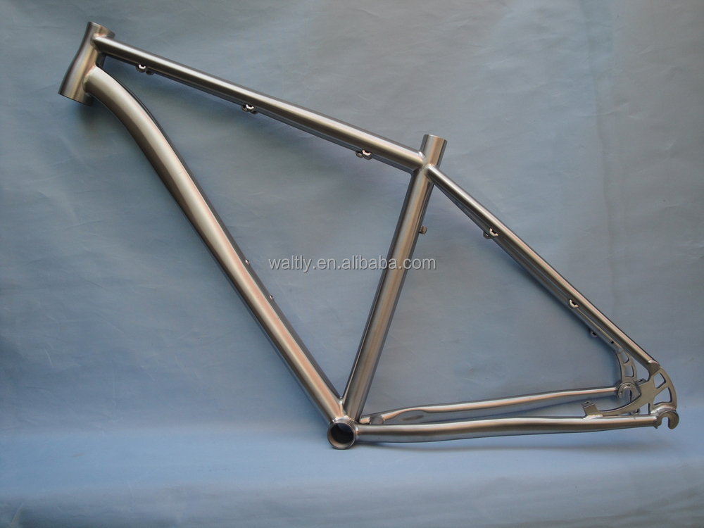 Custom rigid 29er Beach mountain bicycle titanium frame