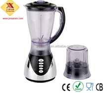 High quality 1500ML plastic jar chrome UV base SX-1731 portable blender