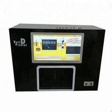 NEW UPGRADED CE Certified Computer build inside nail printer multifunction digital nail machine 5 nails printing