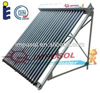 Imposol 200L Projects Green environment solar collector system with pump
