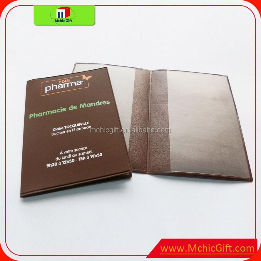 Cheap custom folding pvc vinyl soft plastic card holder wallet, View ...