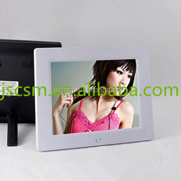China manufacturer 8 inch open hot sexy girl photo or photo picture frame