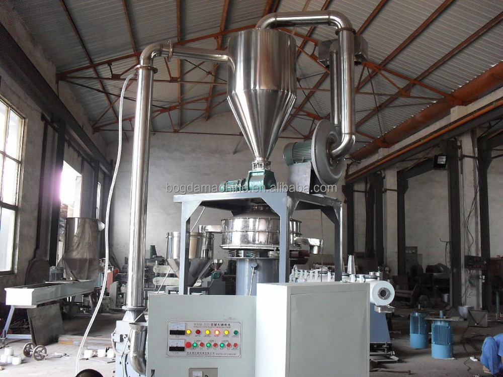 Trustworthy china supplier waste pvc pp plastic pulverizer