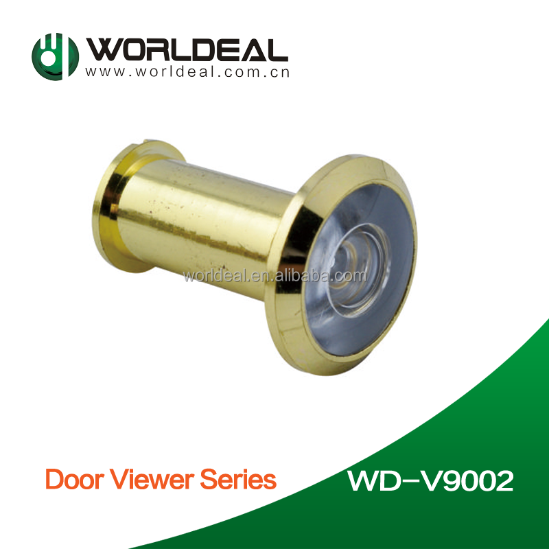 cylinder shape hardware door viewer peephole glass lens