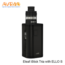 Most Popular Products 2A Quick Charge Vapor Starter Kits Express Ali 300W Output Eleaf iStick Tria With ELLO S Tank