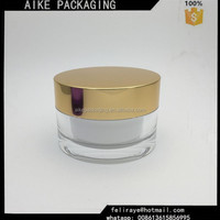 high end plastic cosmetic jar cosmetic sample jars cosmetics mask acrylic jar 50 ml
