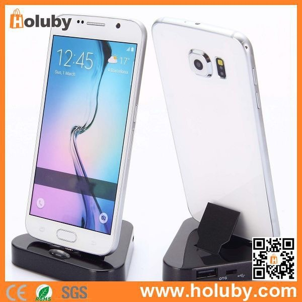 New Dock Charger for Samsung Galaxy S6 / S6 Edge, OTG Sync Charging Cradle & Dock Charger for Samsung Galaxy S6 / S6 Edge