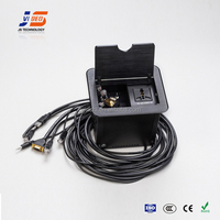 Black brushed Slide Lid Cable connection box supplier