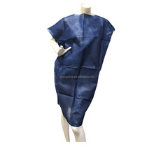 Disposable non-woven hospital patient gown