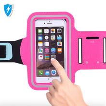 Fitness jogging mobile armband for iPhone 7