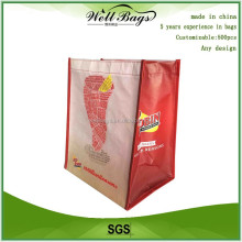 Factory supplier lanimated RPET bag,custom recycled rpet shopping bag