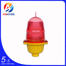 HOT SALE LED Low - intensity Red Obstruction Light / Aircraft Warning Light for Tower Crane