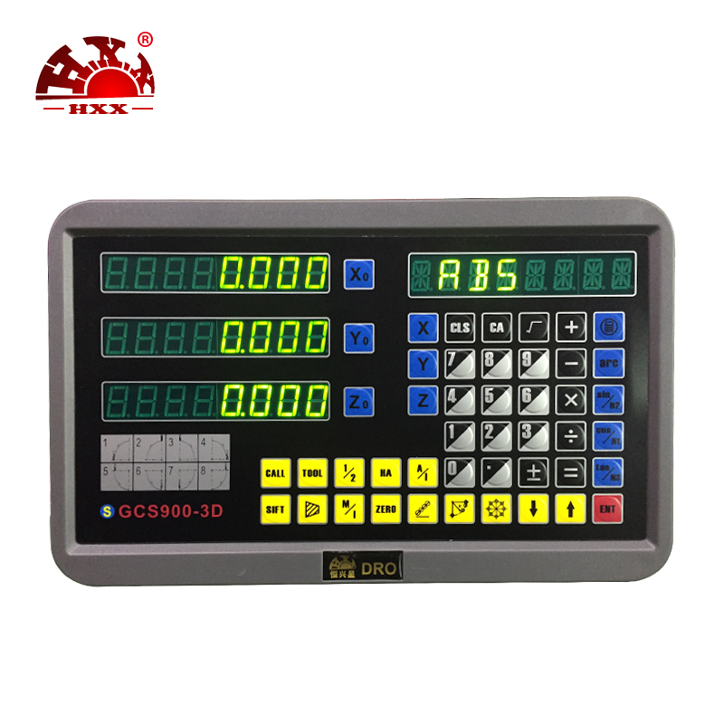 electronic sensor 3 axis digital readout set for milling turning boring machine