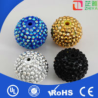 2014Top quality lead free brilliant decoration crystal ball