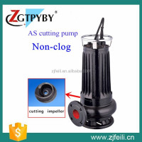 submersible pumps AS cutting sewage pump dirty water pump