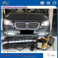 DRL LED For BMW 7 Series F01 F02 2009 - 2013 High Quality ABS Material Vacuum Plating Auto Parts Anti - aging Anti - rust 12V