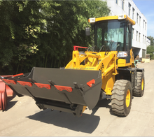 cheap compact tractor loader china suppliers farming equipment 4x4 articulated radlader ZL918