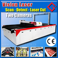 Vision Laser Fabric Cutting Machine for Digital Printing Textile