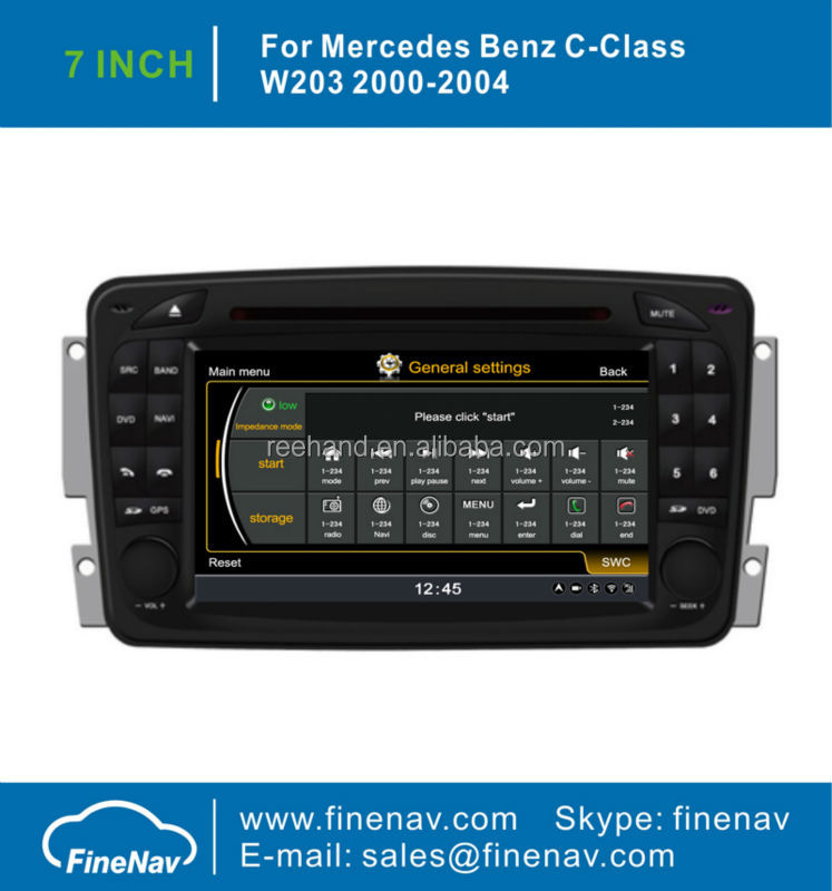 "Finenav 7"" TFT Screen Car <strong>DVD</strong> Radio <strong>GPS</strong> For Benz <strong>W164</strong> X164 With <strong>GPS</strong> A8 Chipset 3G WiFi Radio Bluetooth iPod 1G CPU Free Map"
