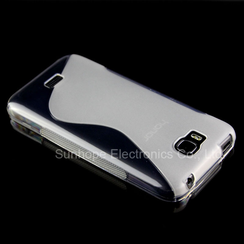New s line tpu soft Gel skin cover Case For Huawei Honor bee Y541