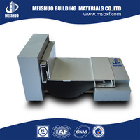 Most popular easy install floor to wall corner building expansion joint for shopping mall