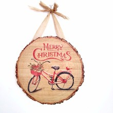 2019 Hot sale customize wooden christmas wall decoration