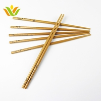 Custom Logo Biodegradable New Style Reusable Bamboo Chopsticks
