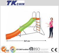 CE certificated metal outdoor plastic playground slides