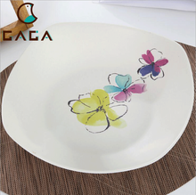 2018 New Product Biodegradeable Bamboo Fiber Plates Dish for Wholesale