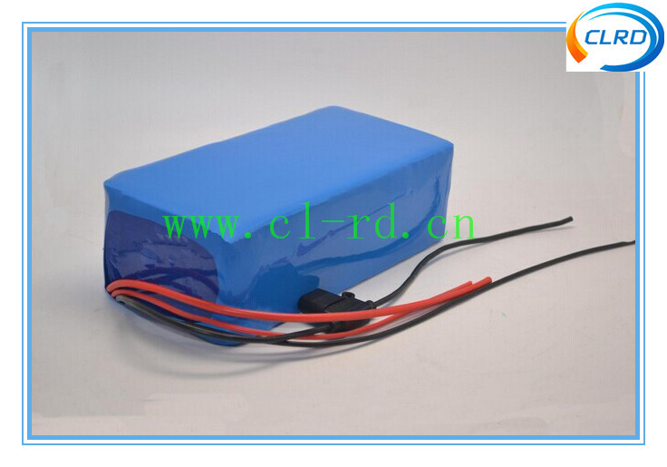 Customized Li-ion rechargeable 18650 E-bike lithium ion battery pack 36v 10ah electric bike battery