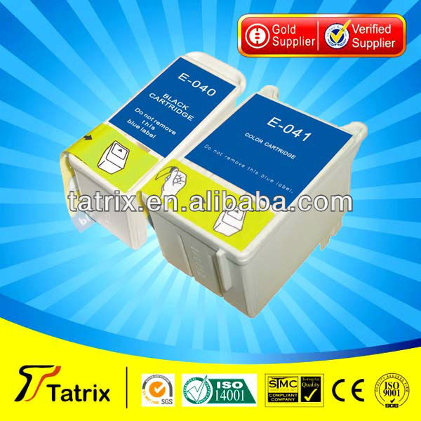 T040 T041 Ink Cartridge Compatible for Epson T040 T041 Ink Cartridge used in Stylus C62,CX3200 for Epson T040 T041