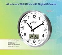 10 Inches Aluminium Wall Clock
