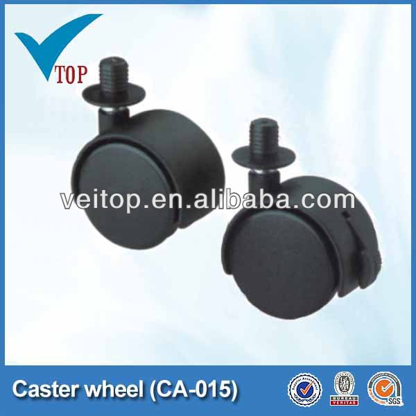 Furniture pu swivel caster wheels