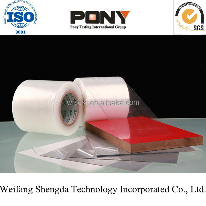 Pe Protection Film In Rolls SGS/PONY Certifacte Factory