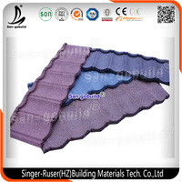 New Design Colorful Stone Coated Metal Roofing Tiles with Low Price in Hot Sale